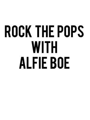 Rock the Pops with Alfie Boe Poster