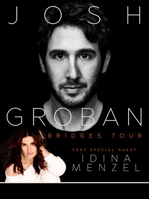 Josh Groban and Idina Menzel at Mohegan Sun Arena