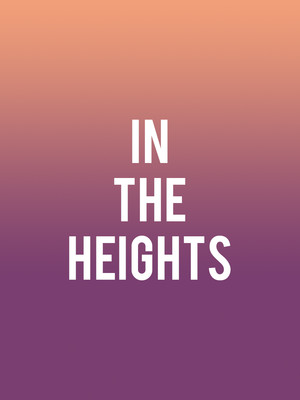 In The Heights at Seattle Repertory Theatre