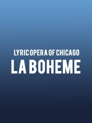 La Boheme, Civic Opera House, Chicago