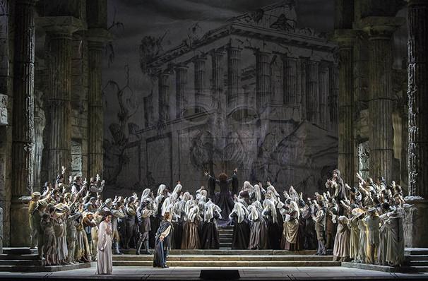 Lyric Opera of Chicago Idomeneo, Civic Opera House, Chicago