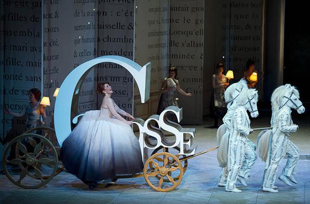Lyric Opera of Chicago Cendrillon, Civic Opera House, Chicago