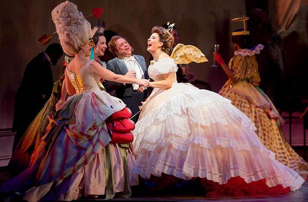 Lyric Opera of Chicago La Traviata, Civic Opera House, Chicago