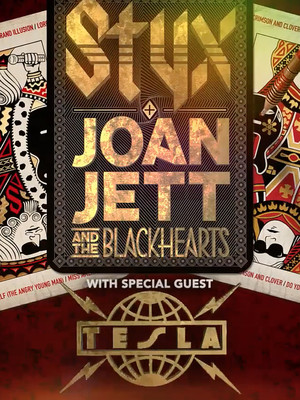 Styx and Joan Jett Poster