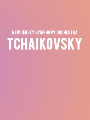 New Jersey Symphony Orchestra - Tchaikovsky Poster