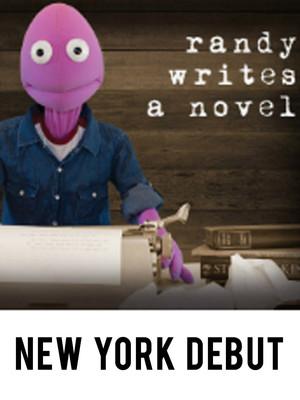 Randy Writes A Novel Poster