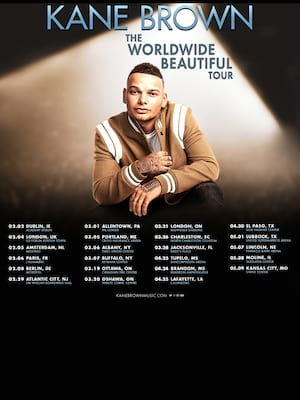 Kane Brown, Budweiser Gardens, London