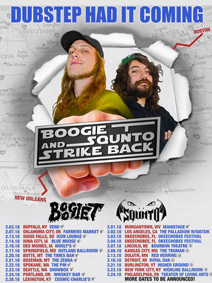 Boogie T and SQUNTO Poster