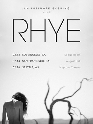 Rhye at Coors Event Centre