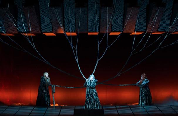 Metropolitan Opera Gotterdammerung, Metropolitan Opera House, New York
