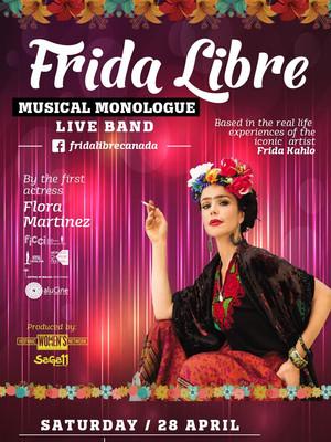 Frida Libre Poster