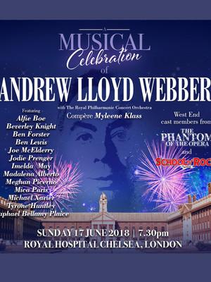 Andrew Lloyd Webber - A Musical Celebration Poster