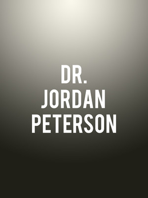 Dr. Jordan Peterson at Centrepointe Theatre