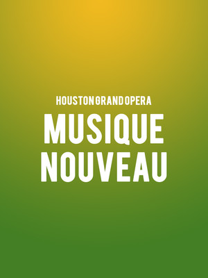 Colorado Symphony Orchestra - Musique Nouveau at Boettcher Concert Hall