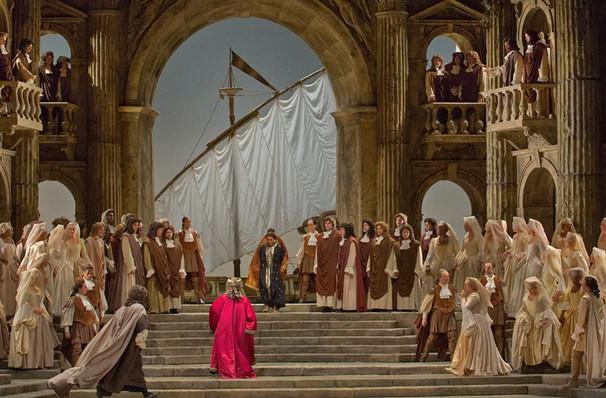 Metropolitan Opera La Clemenza Di Tito, Metropolitan Opera House, New York