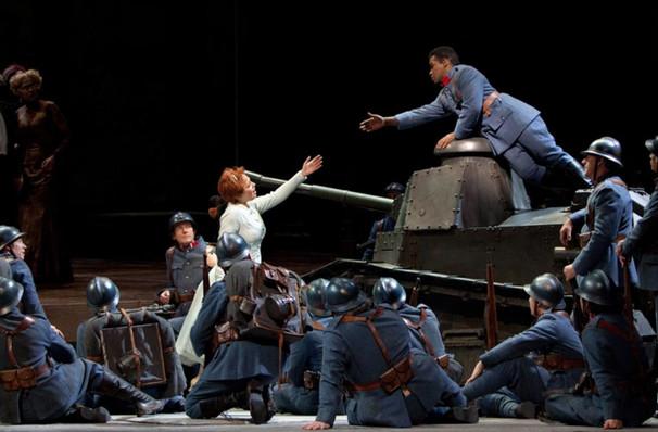 Metropolitan Opera La Fille du Regiment, Metropolitan Opera House, New York