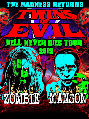 Rob Zombie and Marilyn Manson Poster