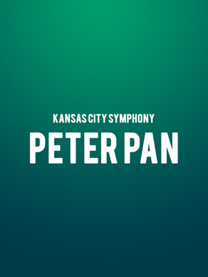 Kansas City Symphony - Peter Pan Poster