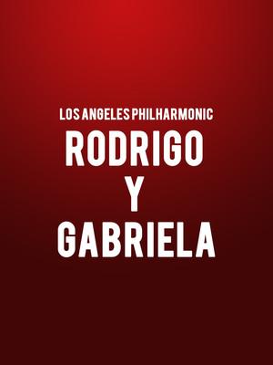 Los Angeles Philharmonic - Rodrigo y Gabriela Poster