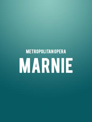 Metropolitan Opera - Marnie Poster