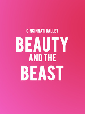 Cincinnati Ballet Beauty and the Beast, Procter and Gamble Hall, Cincinnati