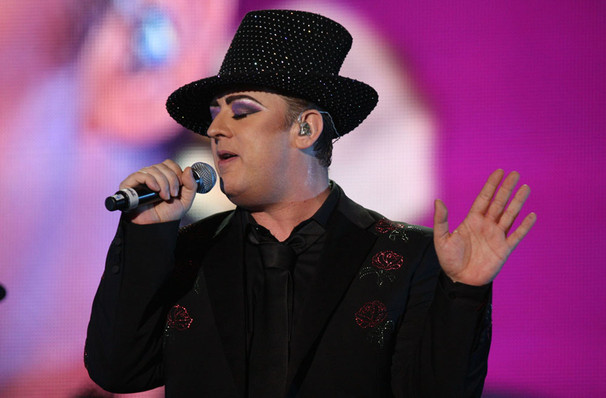 Just one chance to see Boy George and Culture Club