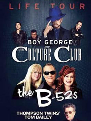 Boy George and Culture Club Poster