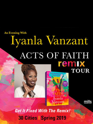 Iyanla Vanzant at Belk Theatre
