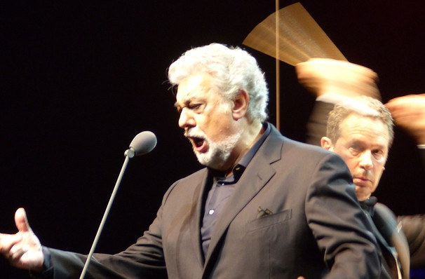 Don't miss Placido Domingo, strictly limited run