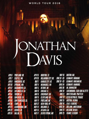 Jonathan Davis at Diamond Ballroom