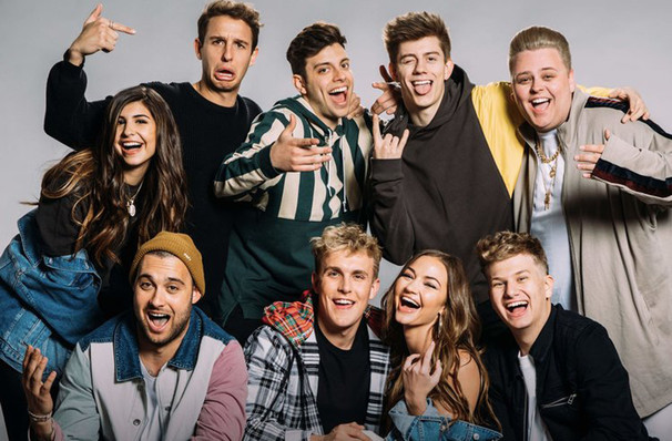 Jake Paul and Team 10, Rosemont Theater, Chicago