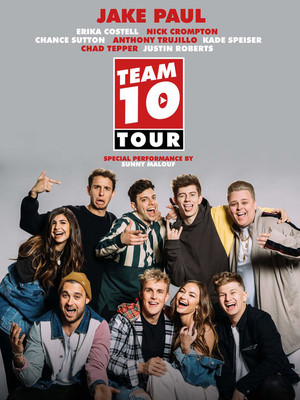 Jake Paul and Team 10 at Tabernacle