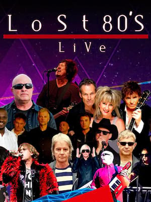 Lost 80s Live, Mountain Winery, San Jose