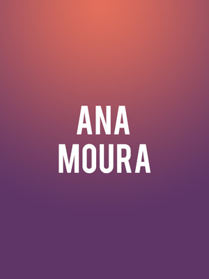 Ana Moura, Berklee Performance Center, Boston