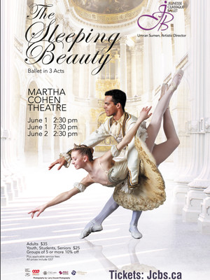 Jeunesse Classique Ballet Society The Sleeping Beauty, Martha Cohen Theatre, Calgary