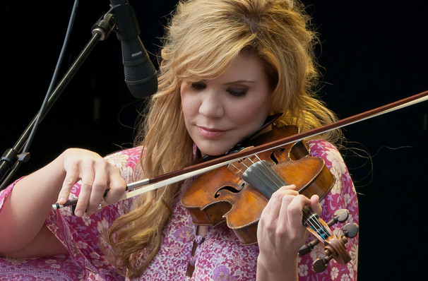 Alison Krauss, Wagner Noel Performing Arts Center, Midland