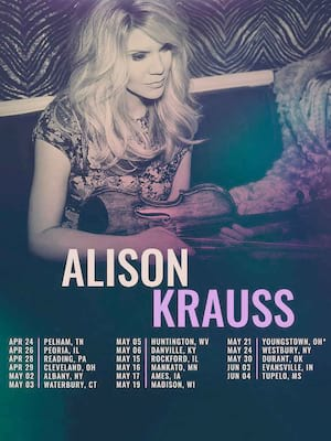 Alison Krauss, Palace Theater, Waterbury