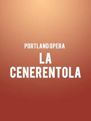 Portland Opera La Cenerentola, Newmark Theatre, Portland