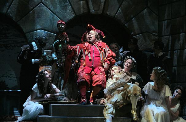 Portland Opera Rigoletto, Keller Auditorium, Portland