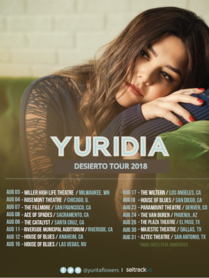 Yuridia at Plaza Theatre
