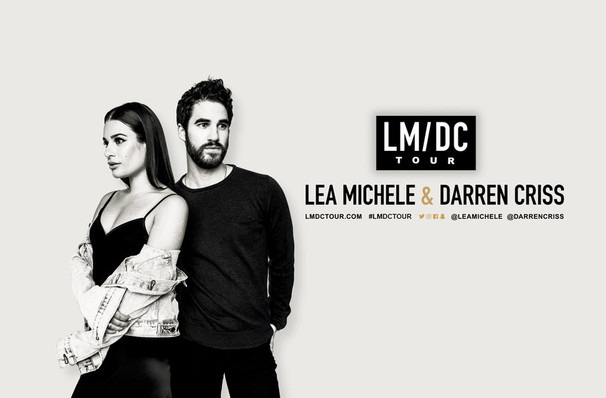 Lea Michele Tour 2020 Lea Michele and Darren Criss   Prudential Hall, Newark, NJ