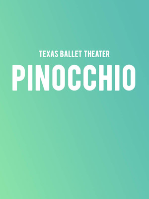 Texas Ballet Theater Pinocchio, Winspear Opera House, Dallas
