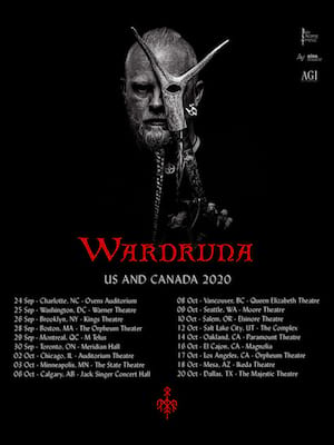 Wardruna, Chan Centre For The Performing Arts, Vancouver