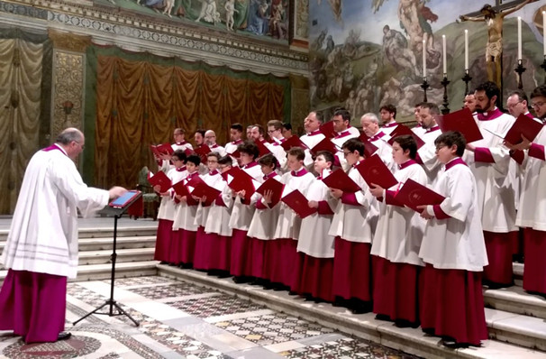 Sistine Chapel Choir, James Knight Center, Miami