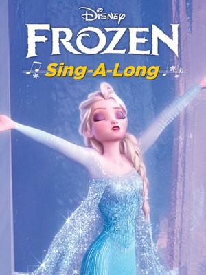Sing Along Frozen Poster