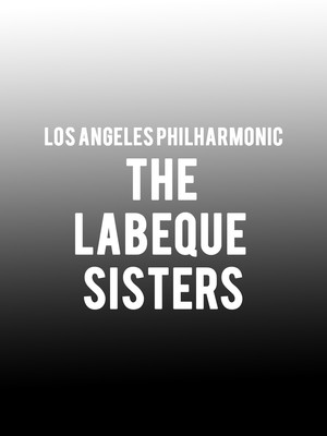 Los Angeles Philharmonic - The Labeque Sisters Poster