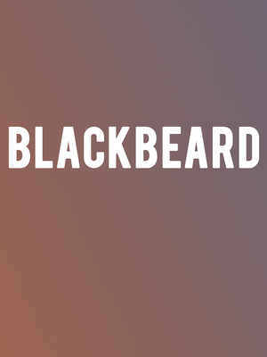 Blackbeard at Signature Theater