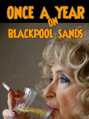 Once a year on Blackpool Sands Poster