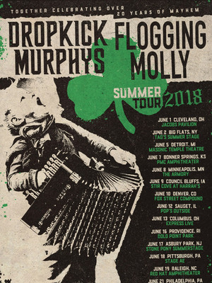 Dropkick Murphys and Flogging Molly, West Side Tennis Club, Brooklyn