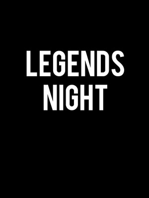 Legends Night Poster